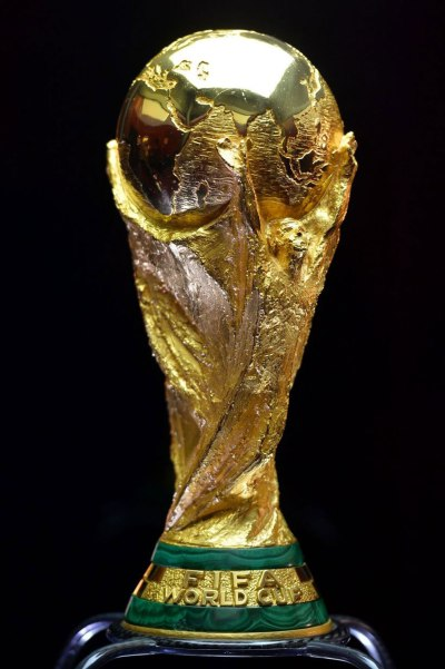 FIFA's World Cup trophy.